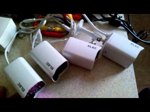 ELEC mini DVR 960h 4CH 720tvl security camera EBay $89