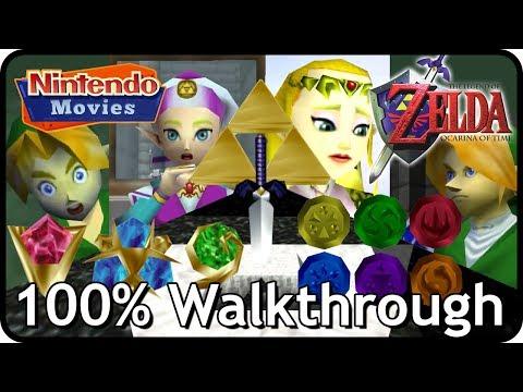 The Legend of Zelda: Ocarina of Time 100% Walkthrough (Full Game)