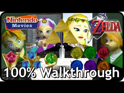 The Legend of Zelda: Ocarina of Time 100% Walkthrough (Full Game)