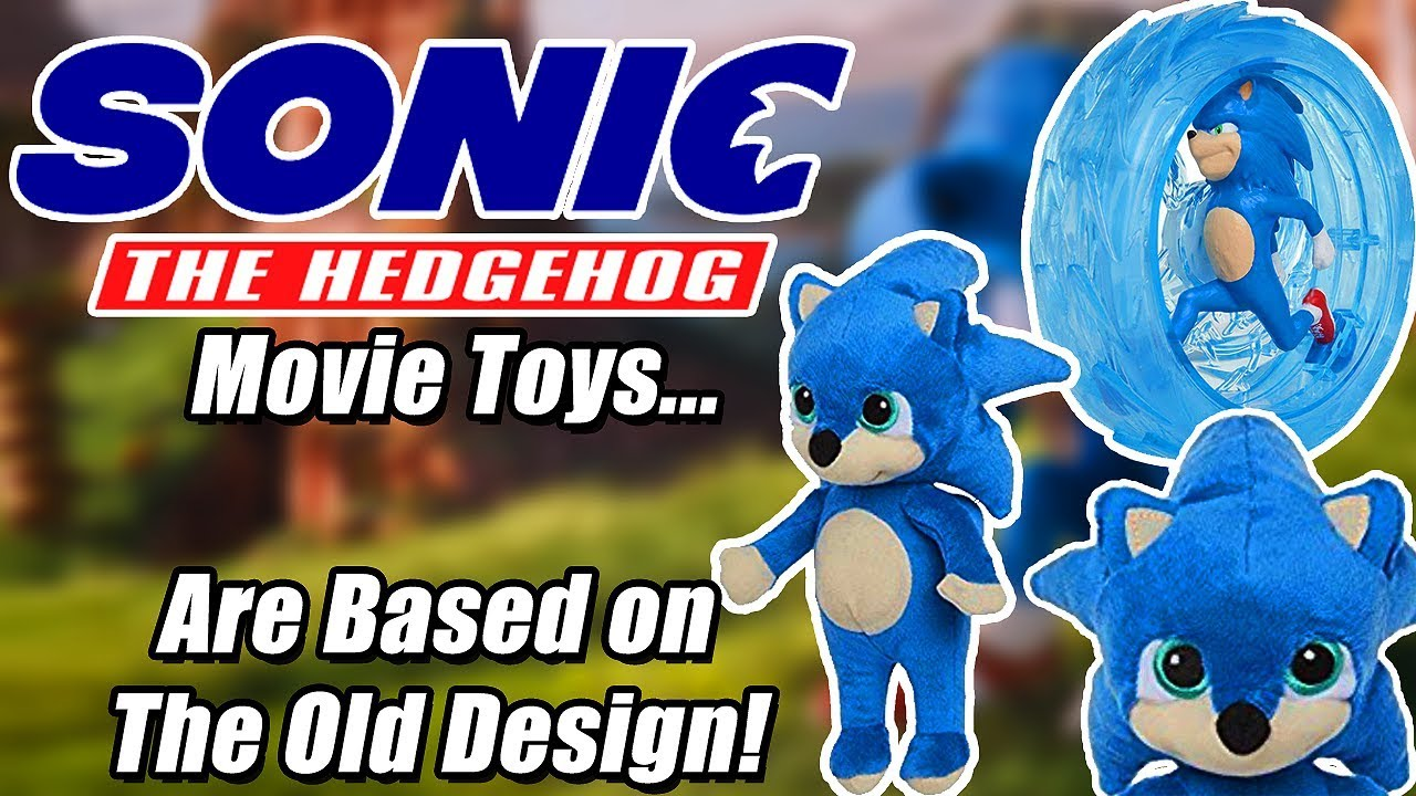 The New Sonic Movie Toys Are Based On The Old Manhog Design