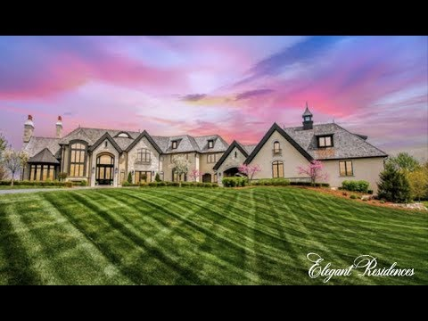One Of A Kind $7 Million Dollar Residence In Award Winning Naperville, Illinois With A 9 Car Garage