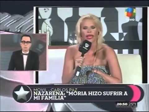 La increíble catarata de insultos de Nazarena Vélez a Moria Casán