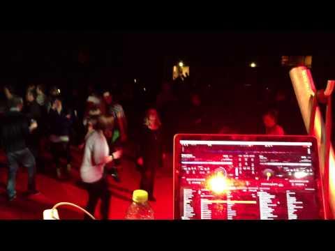 darkmoon.dk mobildiskotek DJs spiller til melodigrandprix fest i Hvidovre Hallen