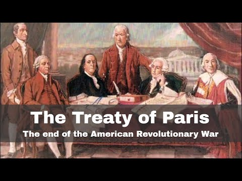 3rd September 1783: Treaty of Paris ends the American Revolutionary War