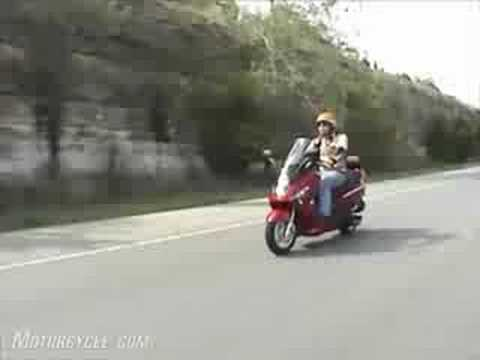 2009 SYM RV 250 Scooter Review