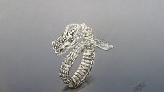 How to draw a bracelet. Как нарисовать браслет.