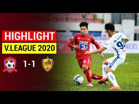 Hai Phong BHTS Quang Nam Goals And Highlights