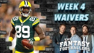 Marshall Faulk, Week 4 Waiver Wire Pickups, Streams - The Fantasy Footballers