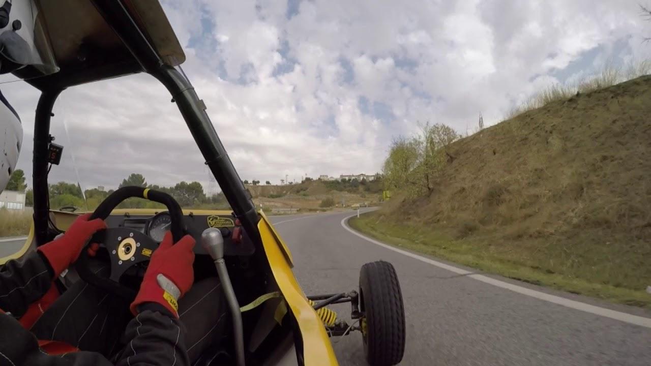 Subida a Paracuellos del Jarama 2018. Keke Fdez - Kartcross Semog