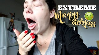 REAL RAW Life Of A SICK Pregnant Mom Of 3 **EXTREME MORNING SICKNESS**
