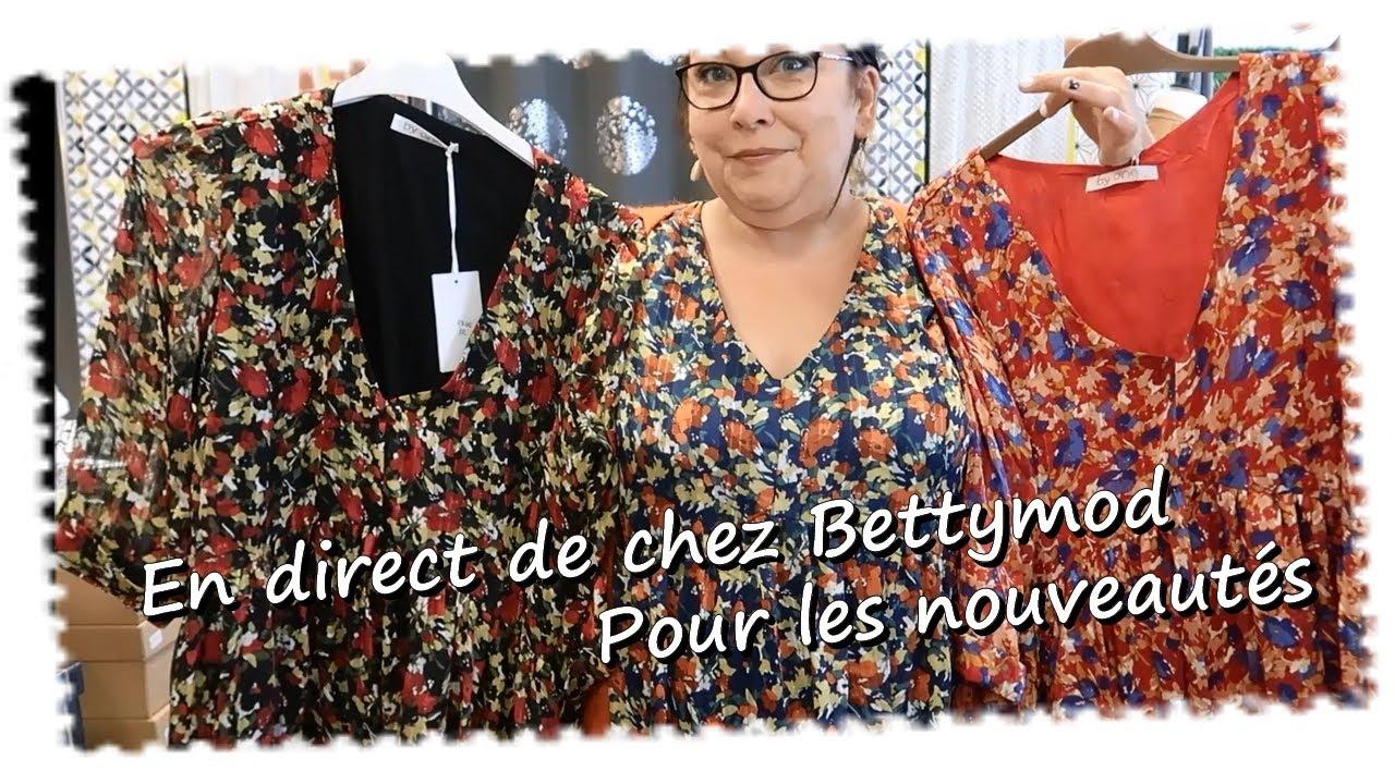 En direct de chez Bettymod pour la collection d'automne ...