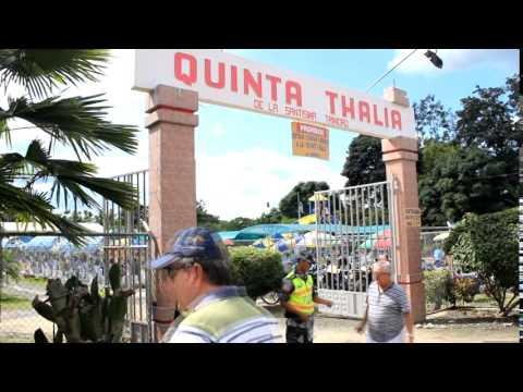 Gran afluencia de turistas en Chone durante feriado de carnaval