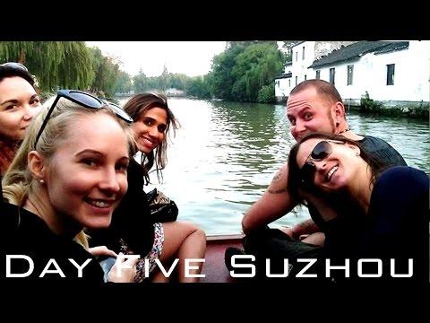 Day Five China Holiday! SUZHOU - Master of the Nets Garden, Rivercruise & Rickshaw ride!
