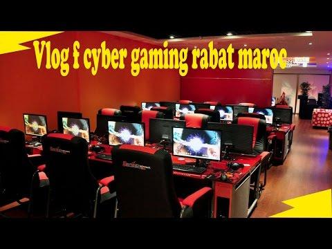 Vlog #2 cyber gaming Rabat Maroc - شاهد حواسيب عالية الجودة في صالة العاب بالرباط المغرب