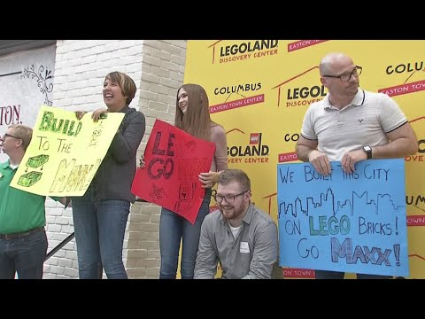 Ashland man crowned as Master Model Builder at Easton's new LEGOLAND
