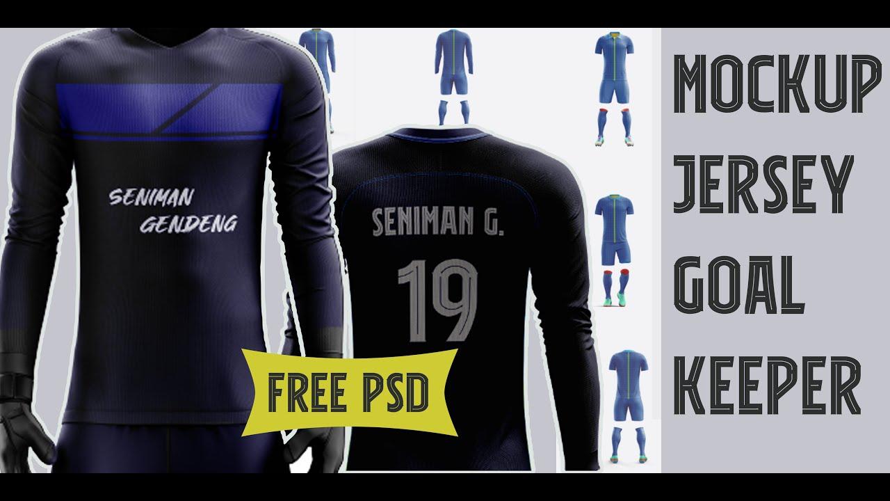 Mockup jersey (back & Front ) Photoshop || Free PSD