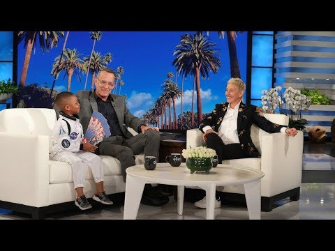 Tom Hanks Gets Schooled on Nebulae by Kid Astronomy Expert Jerry Morrison III
