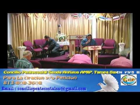 Culto Evangelistco Concilio Pentecostal Senda Antigua AMIP Tampa Bay. - 09-18-2016 Part 2