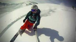 Move your feet, free your heel: Telemark!