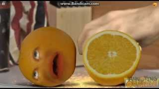 Annoying Orange Gets Knifed