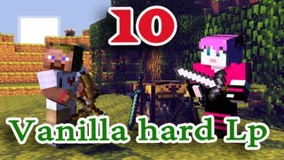 ч.10 Minecraft Vanilla hard Lp - Портал в Ад