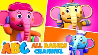 Elephant Song | +More Nursery Rhymes & Kids Songs - ABC