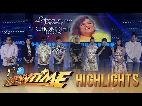 Showtime family prays for Chokoleit | It's Showtime