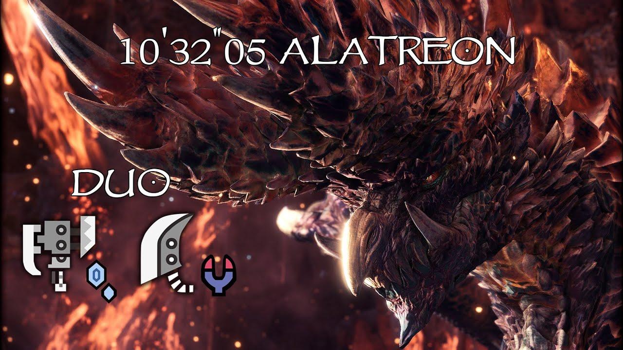 Monster Hunter World Iceborne Alatreon 10 32 05 Switch Axe