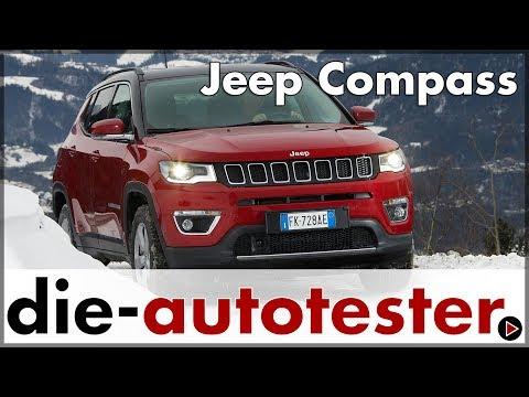 2018 Jeep Compass Test & Fahrbericht - mit dem Compass 1.4l MultiAir 4x4 im Schnee   Auto   Deutsch