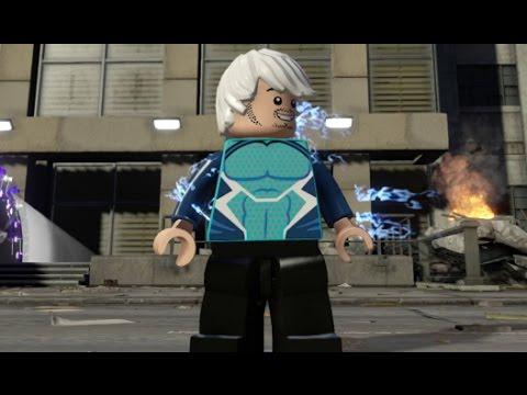 lego marvels avengers  quicksilver free roam open world gameplay manhattan