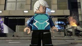 LEGO Marvel's Avengers - Quicksilver Free Roam Open World Gameplay (Manhattan)