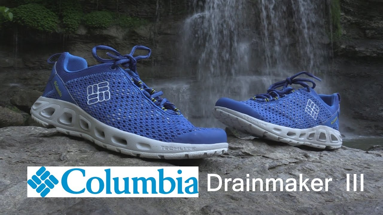 31bf034eb827 Columbia Drainmaker III water shoe review - YouTube