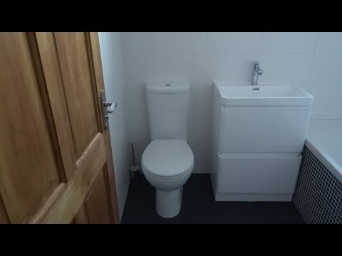 Complete DIY Bathroom Makeover / Renovation