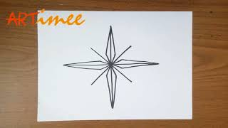 How to Draw a Compass Rose