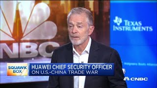 Huawei USA chief security officer: U.S. shouldn't hurt Americans to hurt China