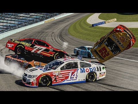 Divebomb FAIL! | Forza Motorsport 6 | NASCAR Expansion