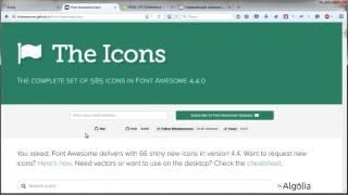 Иконки юникода в HTML
