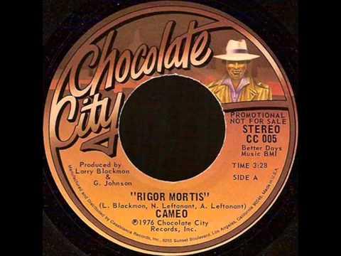 Rigor Mortis (12inch) 1976. CAMEO