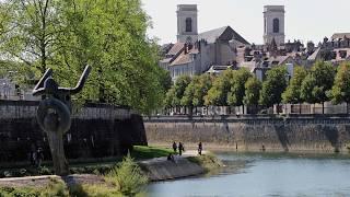 Langs de Doubs en Besançon