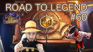 PIRATE WARRIOR GANG TO LEGEND | Road to Legend #60 [Hearthstone Deutsch]