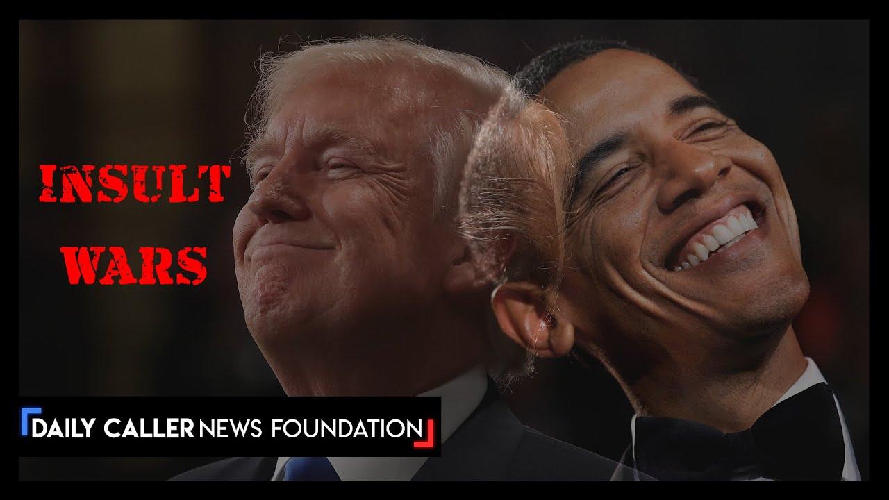 Trump VS Obama Insult Wars