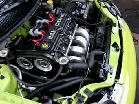 95 Dodge Neon 2 4 Swap First Time Firing Up Youtube