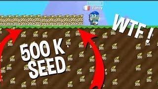 500.000 PİNBALL SEED KASMAK ! (GERÇEK)  - Growtopia Tarihindeki Rekorlar !