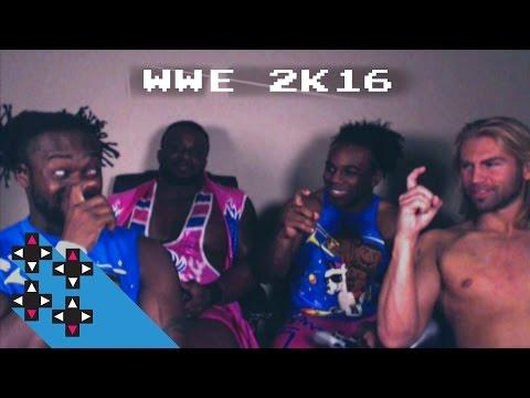 Austin Creed & Tyler Breeze Vs. Kofi Kingston & Big E In WWE 2K16 — Gamer Gauntlet