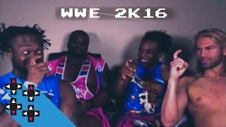 Austin Creed & Tyler Breeze vs. Kofi Kingston & Big E in WWE 2K16 — Gamer Gauntlet