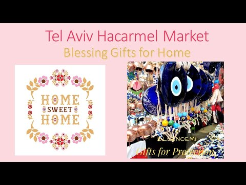 Bluenoemi Jewelry & Gifts -  The Tel Aviv Market Israeli Gifts
