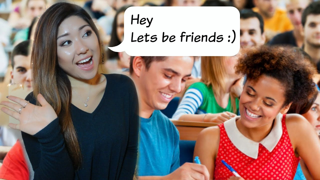 How To Make Friends In Class Youtube