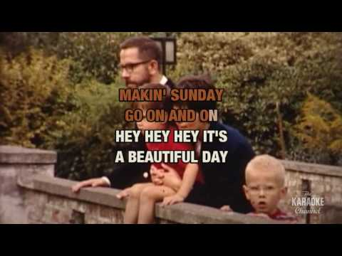 Beautiful Sunday in the style of Daniel Boone   Karaoke with Lyrics