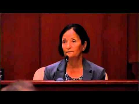 Zimmerman Trial - Dr Valerie Rao (Medical Examiner) July 2 2013