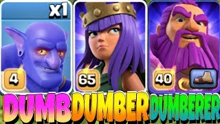 "YOU WONT BELIEVE WHAT THEY DO!! ""Clash Of Clans"" DUMBEST TROOPS!"